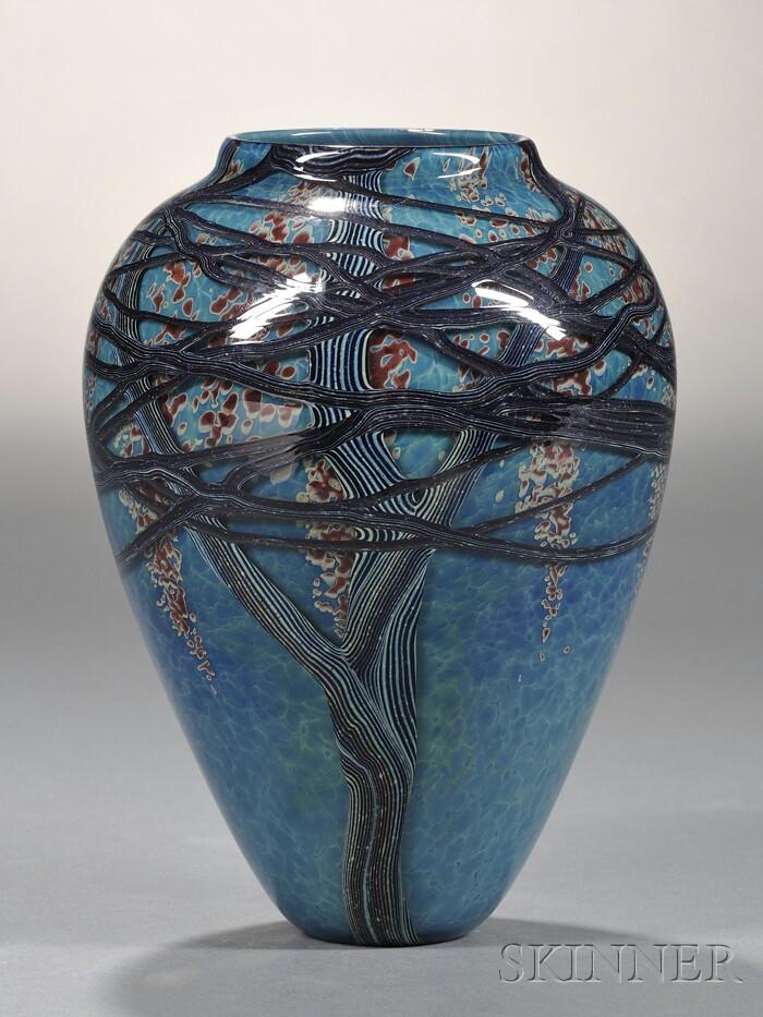 Richard Satava Glass Vase