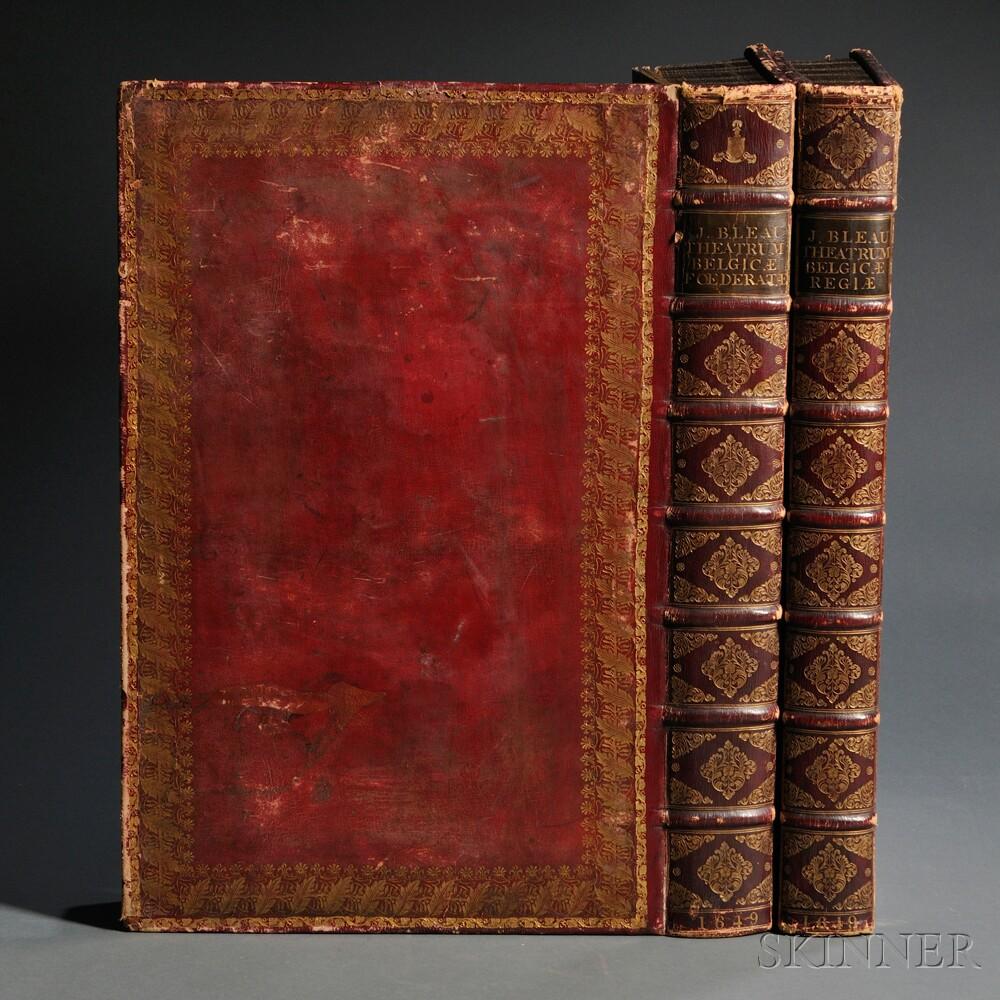 Blaeu, Joan (1596-1673)   Novum ac Magnum Theatrum Urbium Belgicae Foederate.