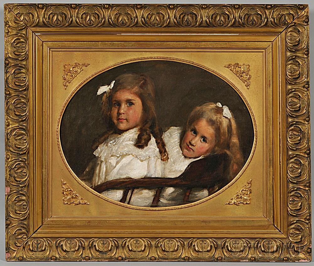 Frank Thomas Copnall (British, 1870-1949)      Two Girls