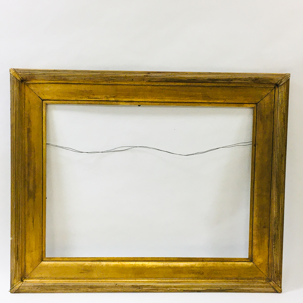 Large Arthur Hubbard Gilt Oak Frame