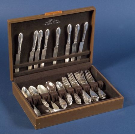 Assembled Group of George IV/William IV Silver Flatware