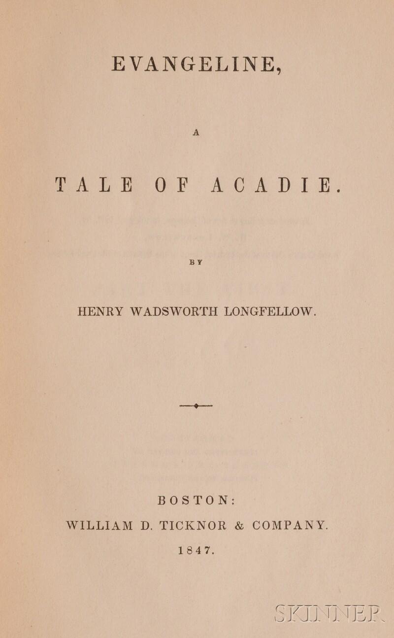 Longfellow, Henry Wadsworth (1807-1882)