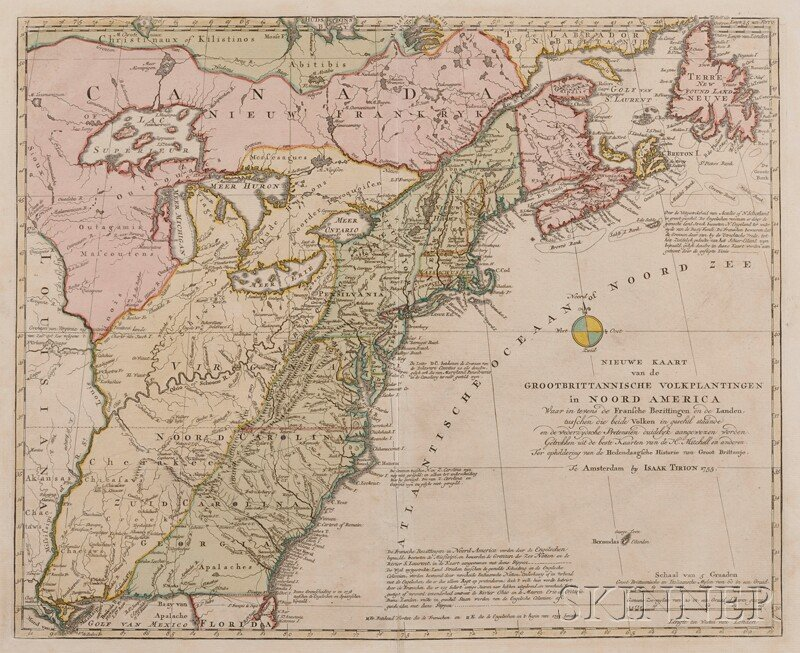 (Maps and Charts, North America), Tirion, Isaac