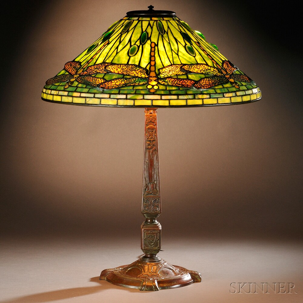 Tiffany Studios Dragonfly Table Lamp Sale Number 2737b