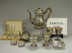 Seventeen Pieces of Assorted Silver Plated Hollowware