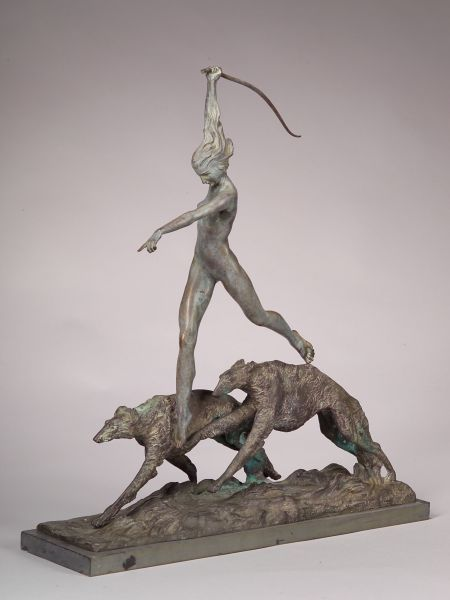 Harriet Whitney Frishmuth (American, 1880-1980)    The Hunt