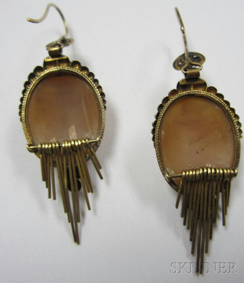 Two Pairs of Antique Earrings