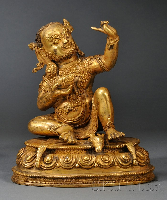 Gilt-bronze Virupa