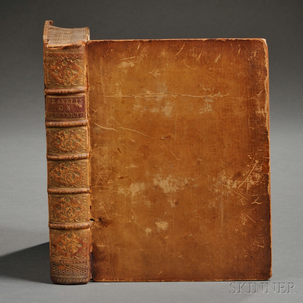 Franklin, Benjamin (1706-1790) Experiments and Observations on Electricity
