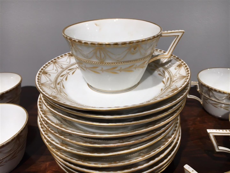 Kpm Porcelain Quot Kurland Quot Pattern Partial Dinner Service