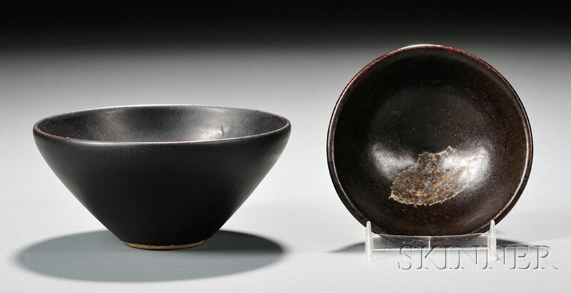 Two Northern Stoneware Bowls