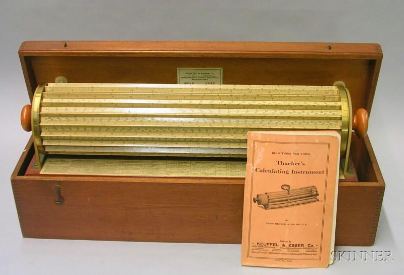Thatcher's Calculating Instrument