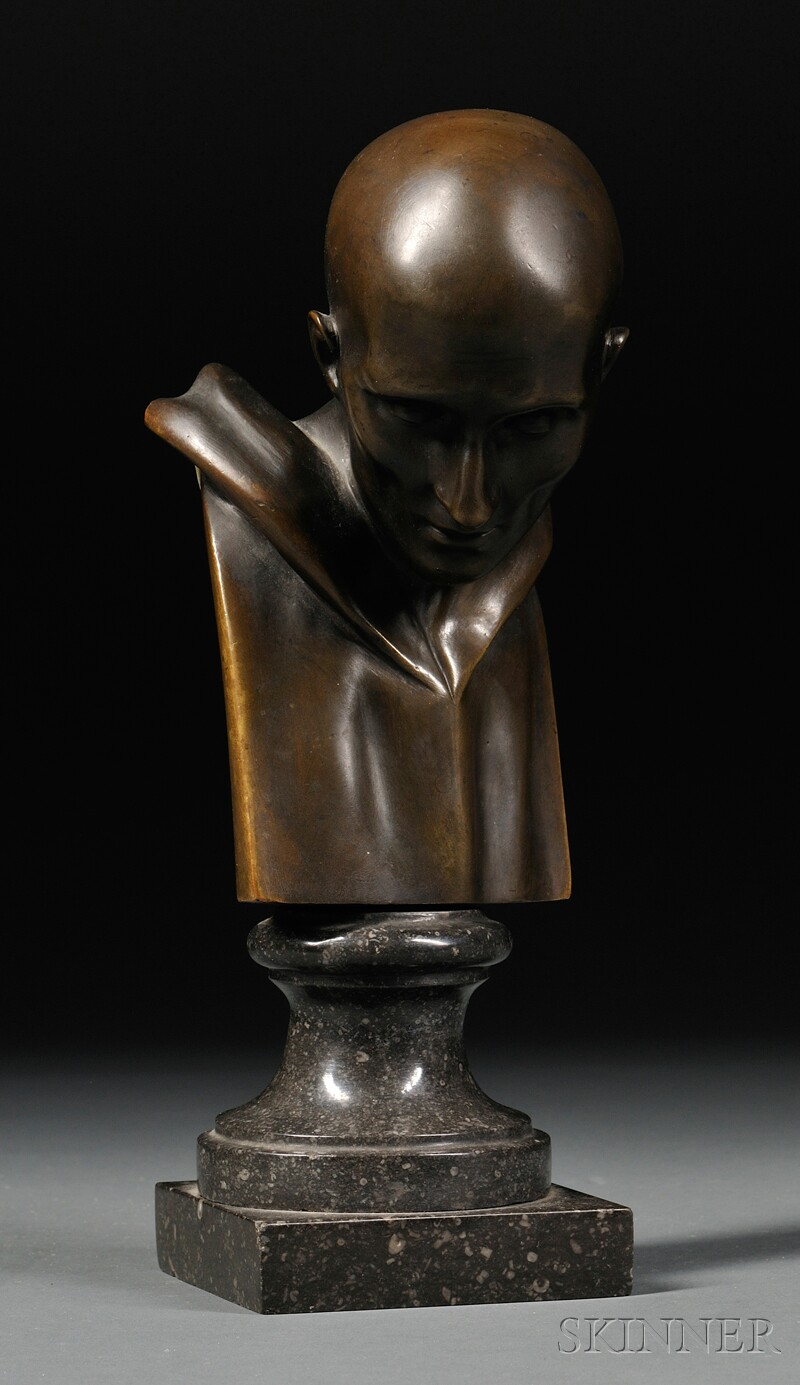 Grand Tour Bronze Bust