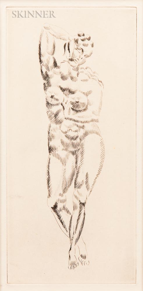 Elie Nadelman (American, 1885-1946)      Female Nude