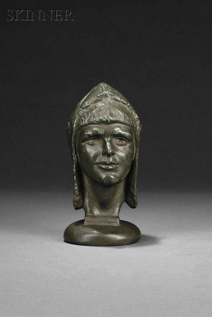 Anna Coleman Watts Ladd (American, 1878-1939)      Bust Portrait of Amelia Earhart