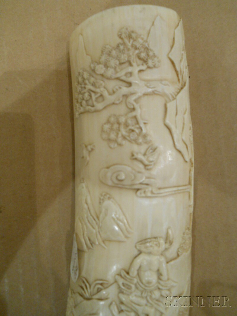 Pair of Ivory Wrist Rests