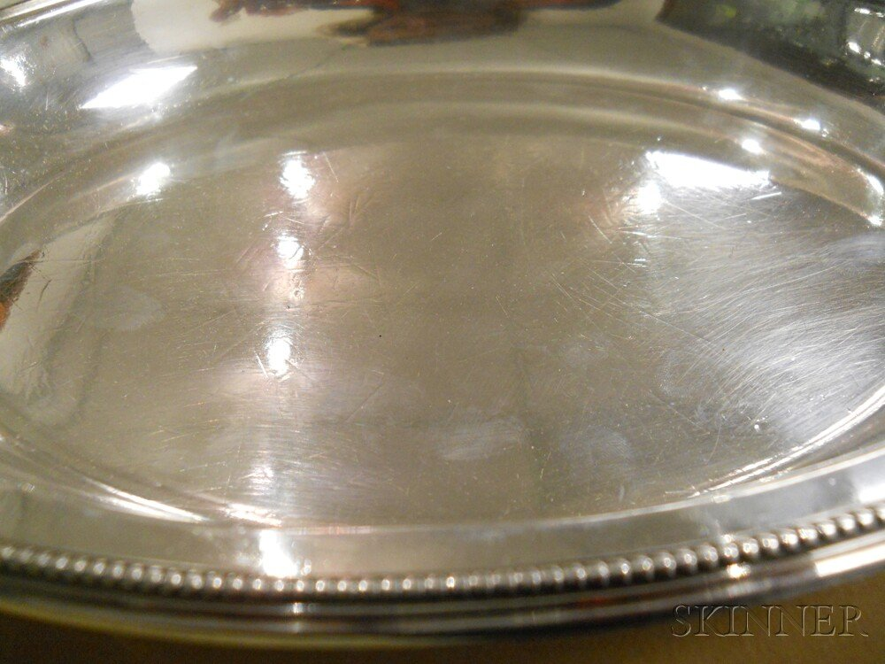 Victorian Sterling Silver Covered Dish
