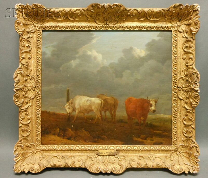 Karel Dujardin (Dutch, 1626-1678)      Cattle