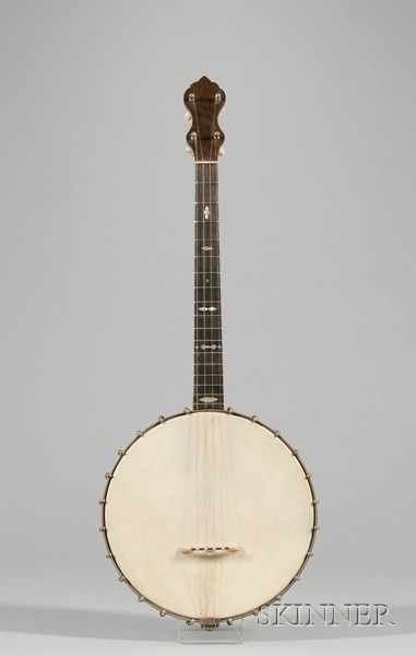 American Tenor Banjo, W.A. Cole, Boston, c. 1910