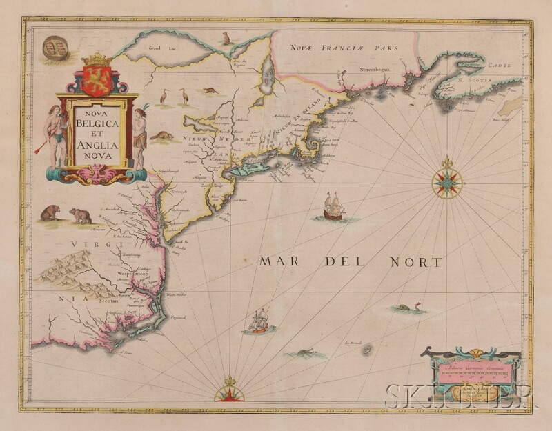 (Maps and Charts, North America), Jansson, Joannes