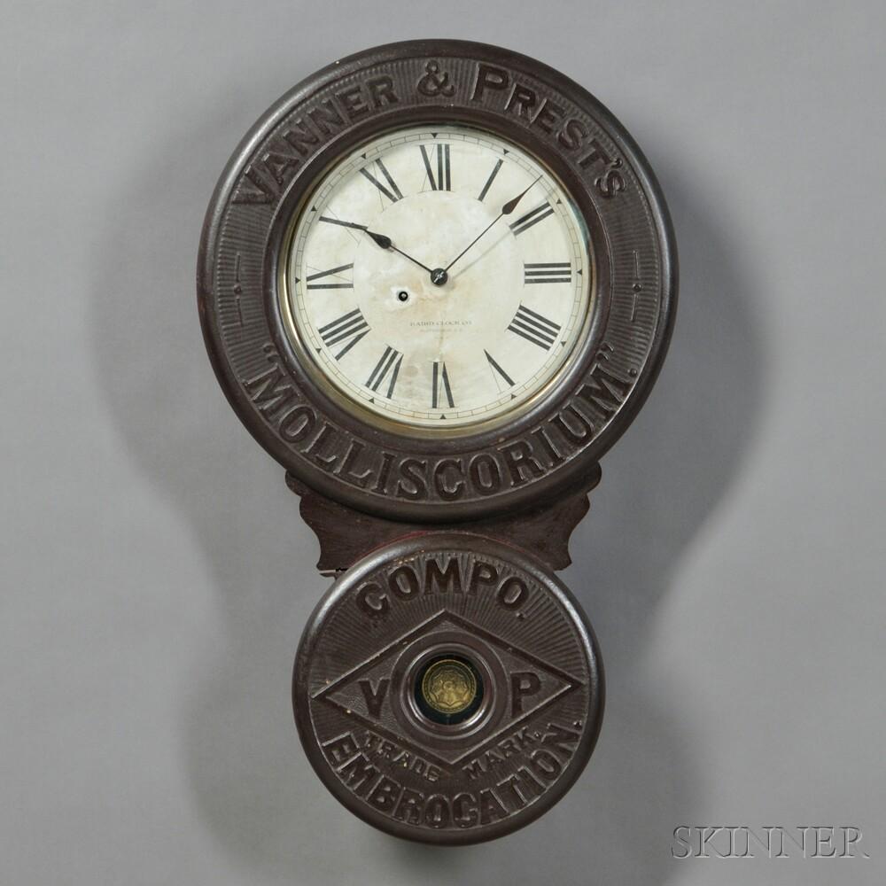 Baird Advertising Wall Clock