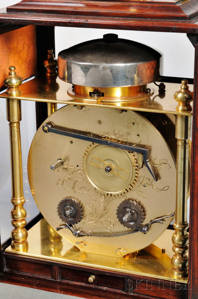 Japanese Makura Dokei or Bracket Clock