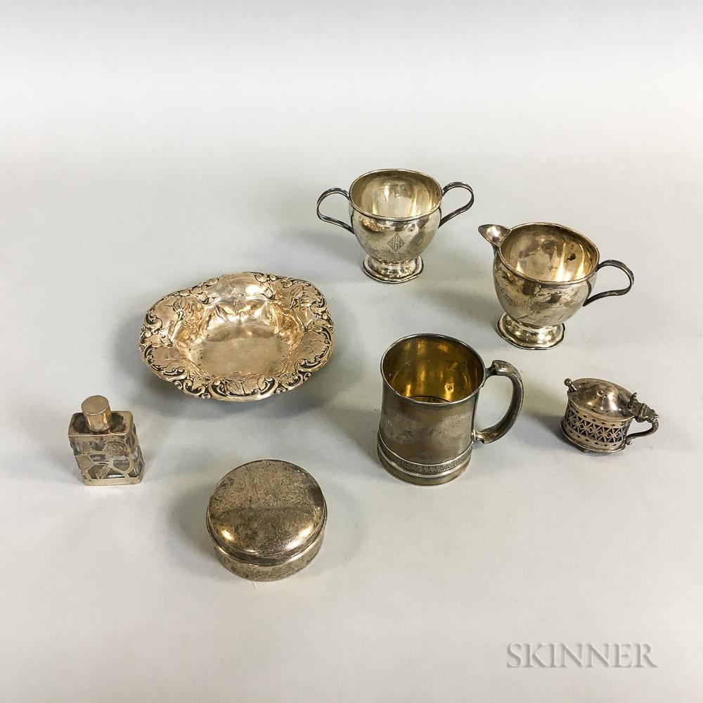 Group of American Sterling Silver Tableware