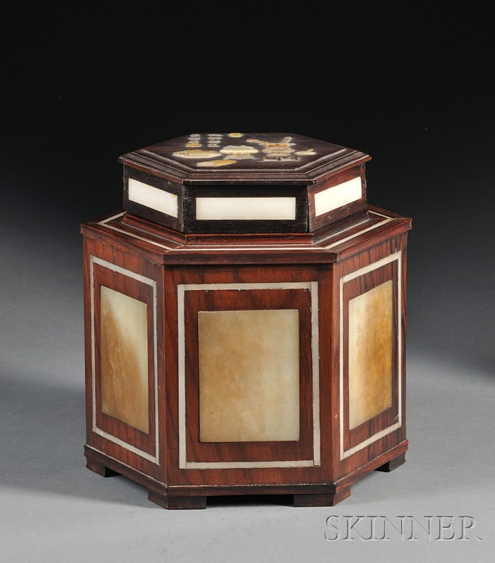 Octagonal Tea Box