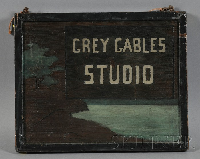 Grey Gables Studio Sign