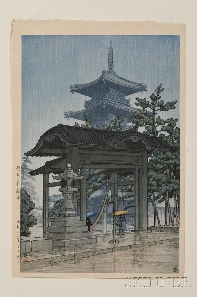 Kawase Hasui (1883-1957), Ochanomizu
