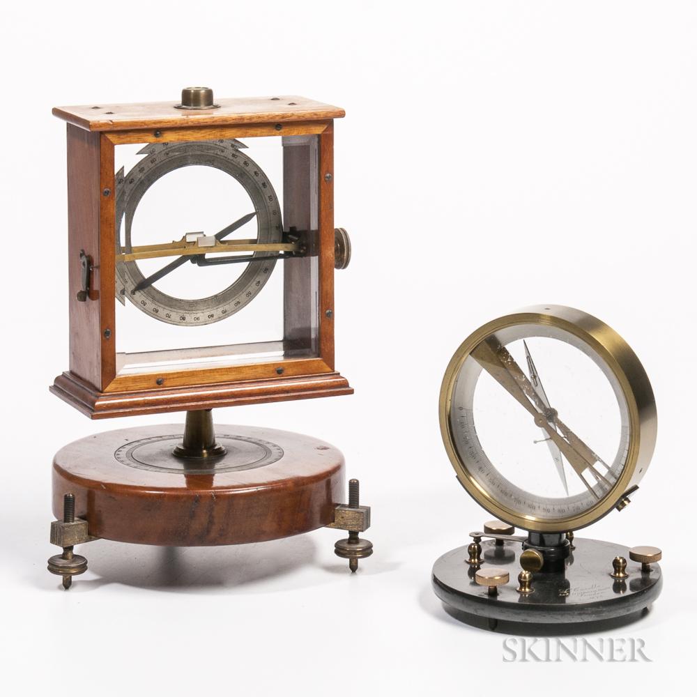Two Scientific Apparatus