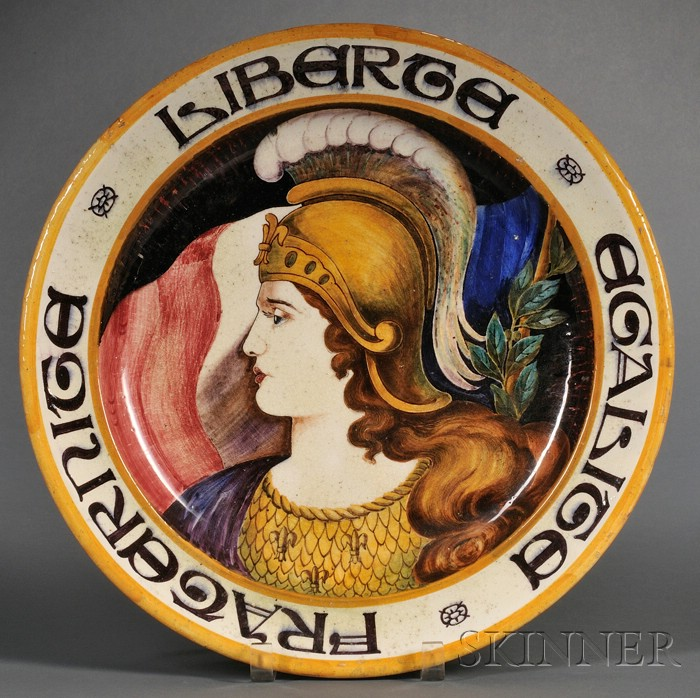 Wedgwood Queen's Ware Peace Plaque