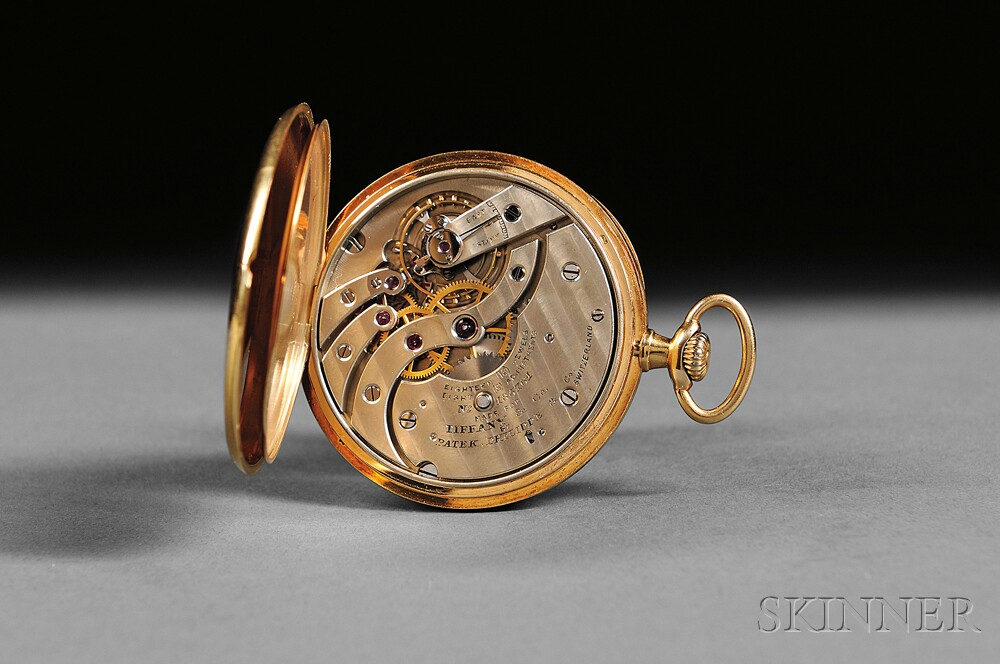 18kt Gold Tiffany & Company Pocket Watch by Patek Philippe