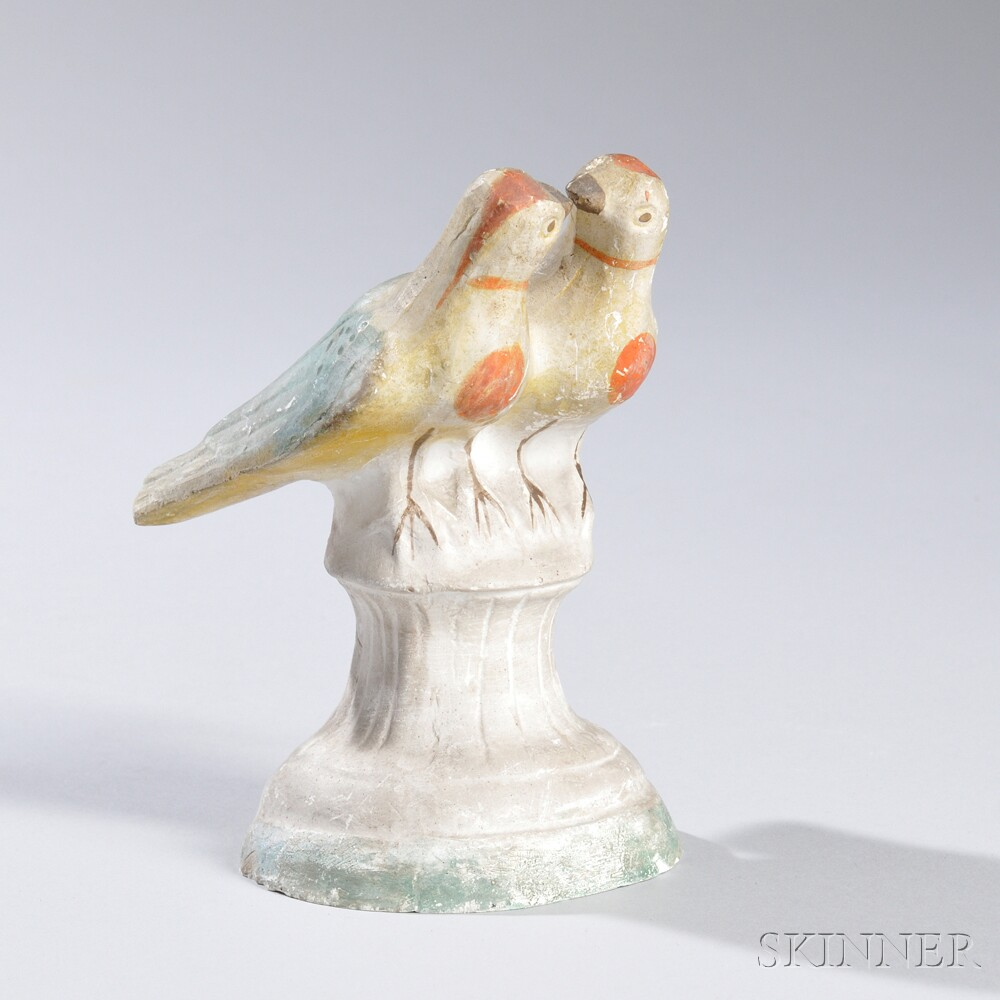 Chalkware Lovebirds