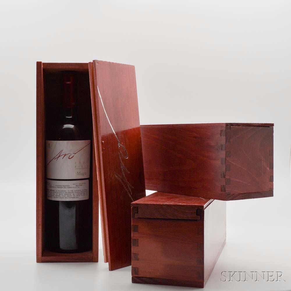 Muga Aro 2001, 3 bottles (individual owc)