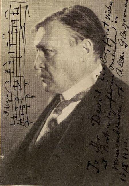 Glazounov, Aleksandr Konstantinovich (1865-1936)