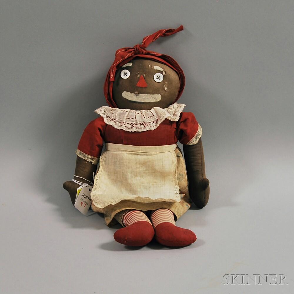 """Volland """"Beloved Belindy"""" Cloth Doll"""