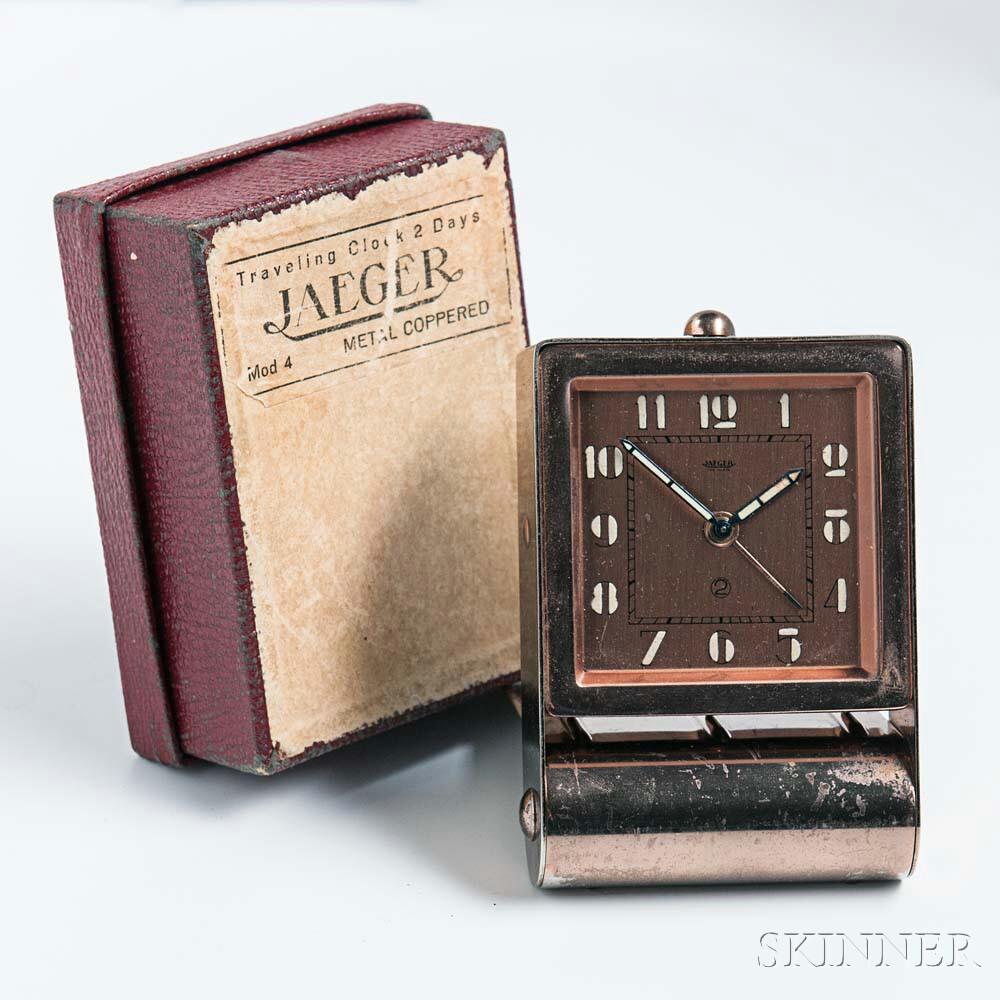 Jaeger Travel Clock