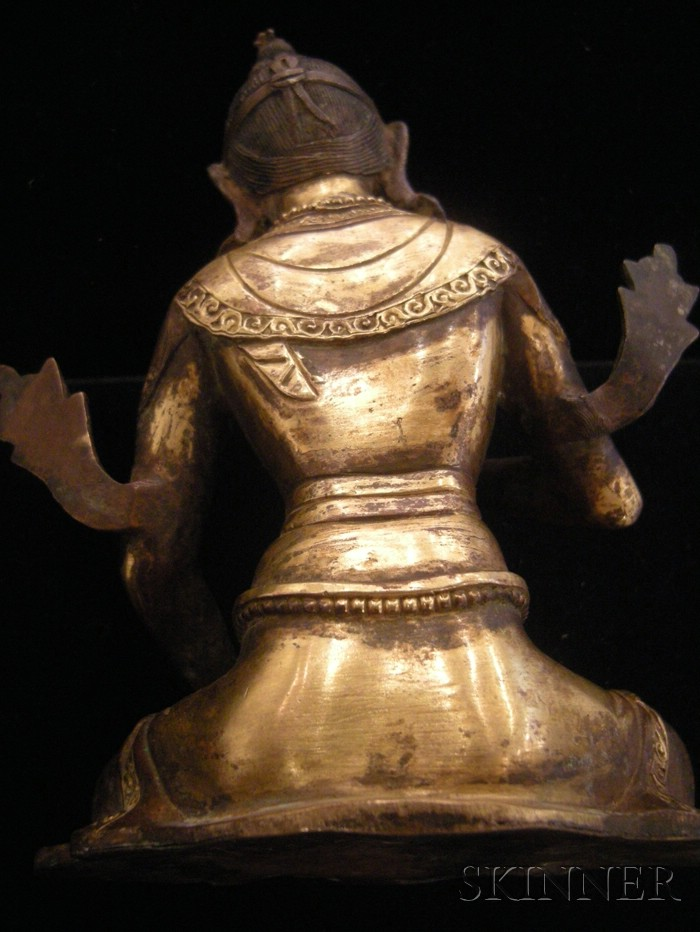 Gilt-bronze Vajrasattva