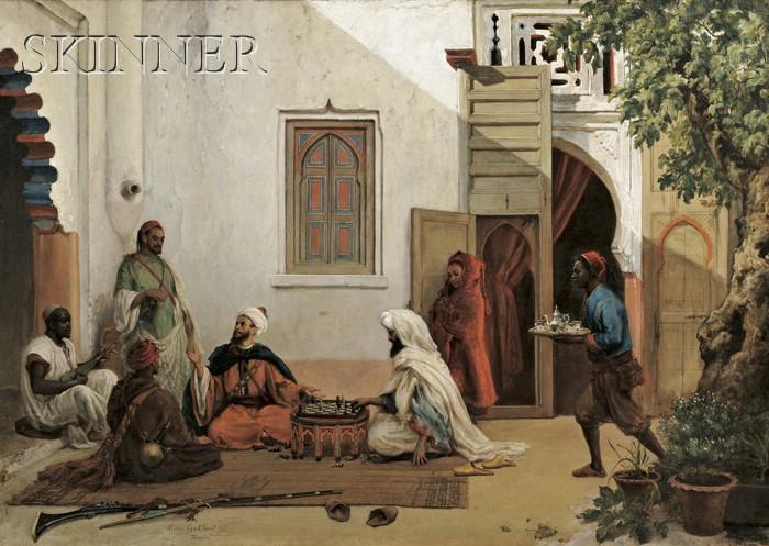 Victor Eeckhout (Belgian, 1821-1879)      Tanger