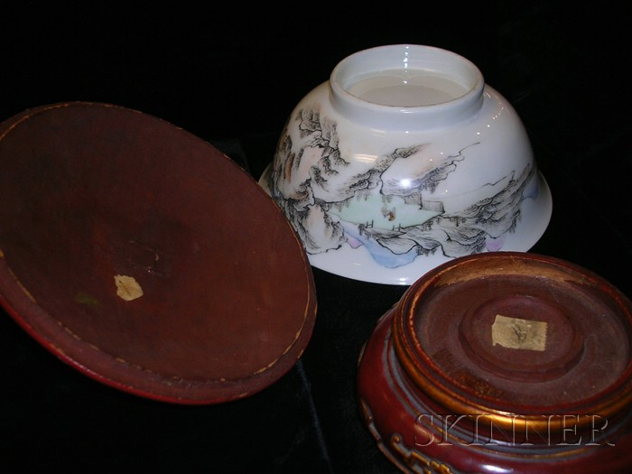 Pair of Porcelain Bowls
