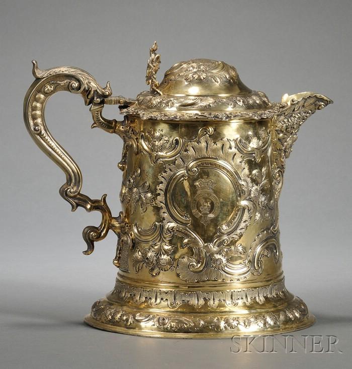 Important George III Silver-gilt Flagon