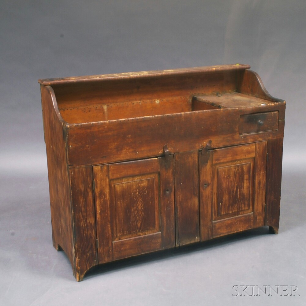 Country Pine One-drawer Dry SinkCountry Pine One-drawer Dry Sink