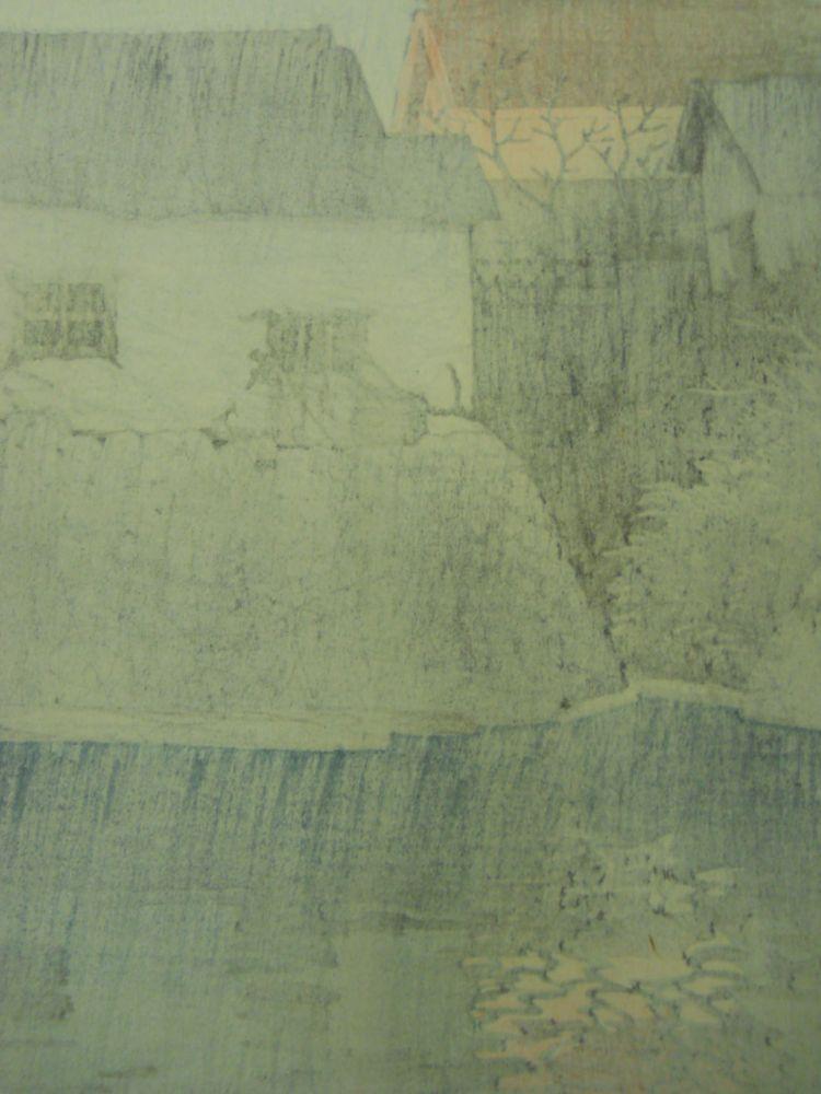 Kawase Hasui (1883-1957), Toyohama in Sanshu