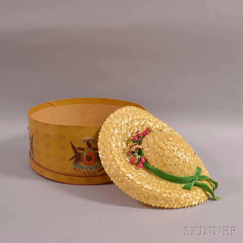 Knox Lady's Straw Hat