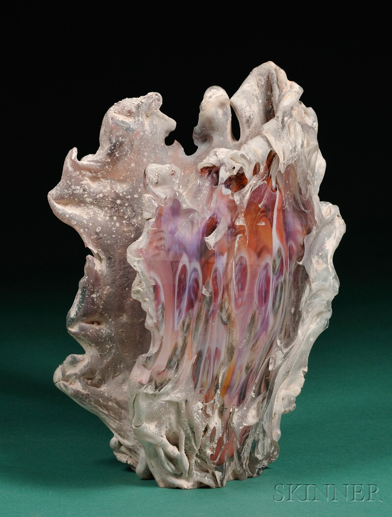 Jon Kuhn Art Glass Sculpture