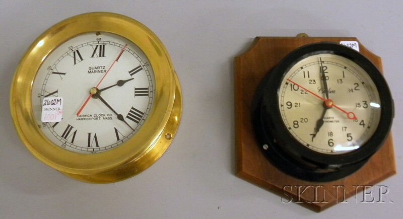 Two Quartz Wall Clocks