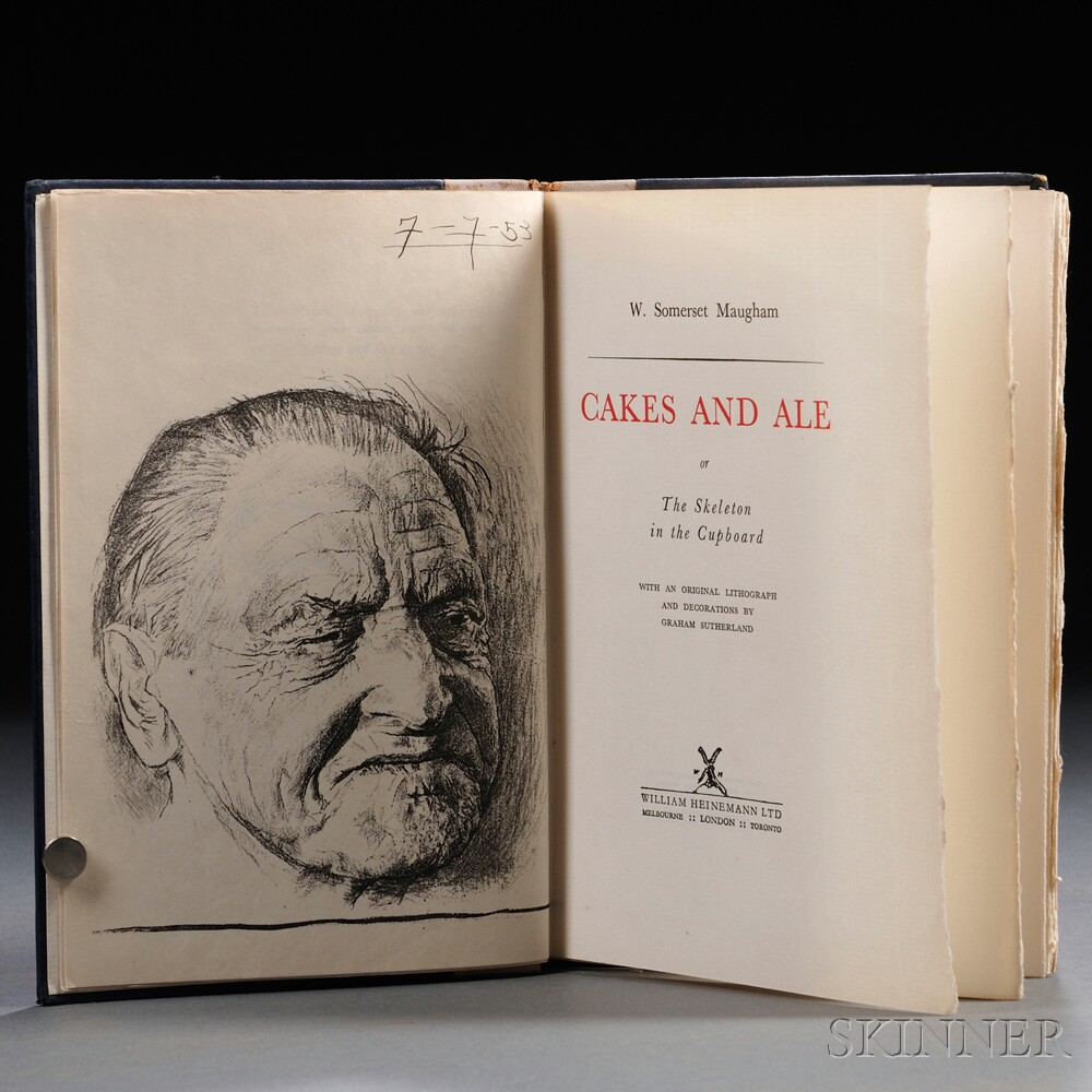 Maugham, W. Somerset (1874-1965) Cakes and Ale