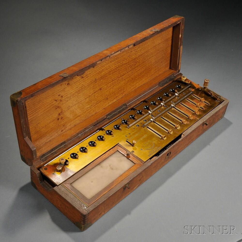 French Arithmometer