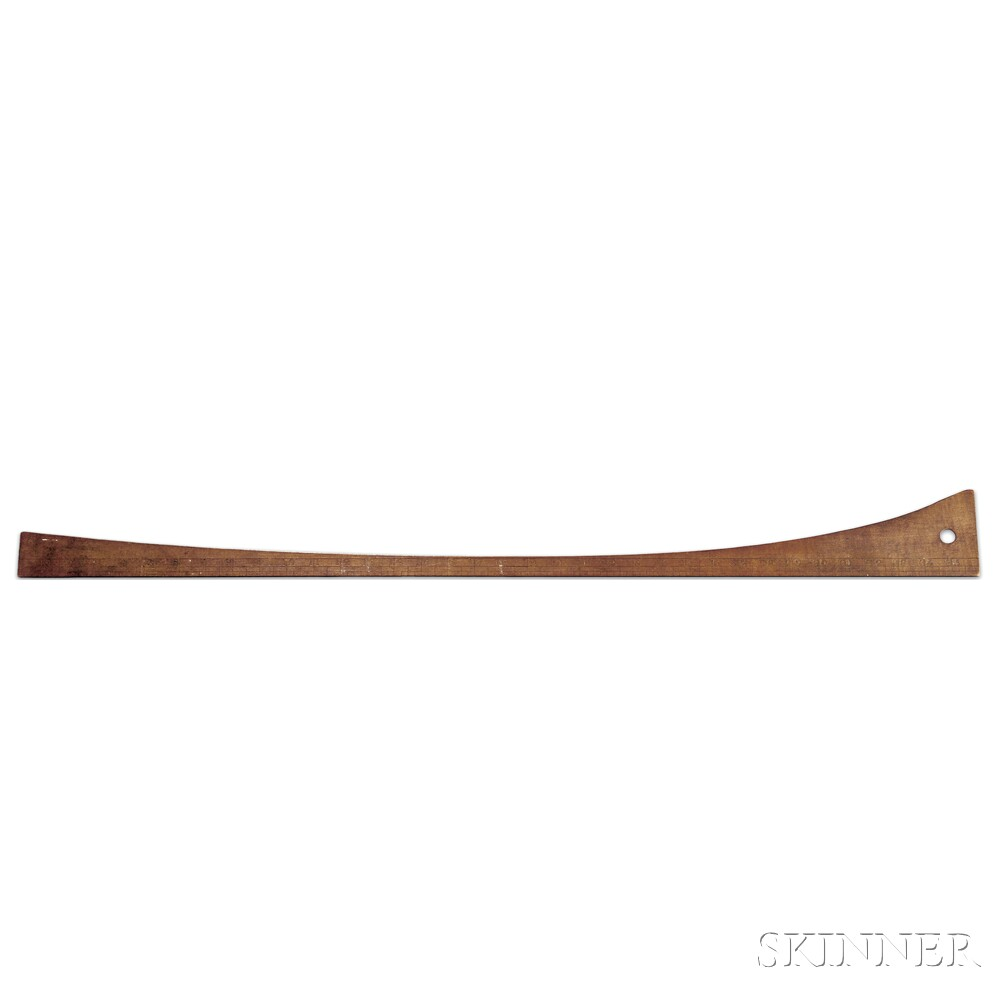 Shaker Maple Tailor's Ruler